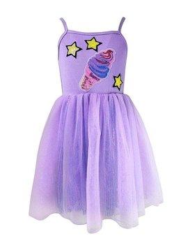 Lola & the Boys Shimmer Ice Cream Tutu Dress