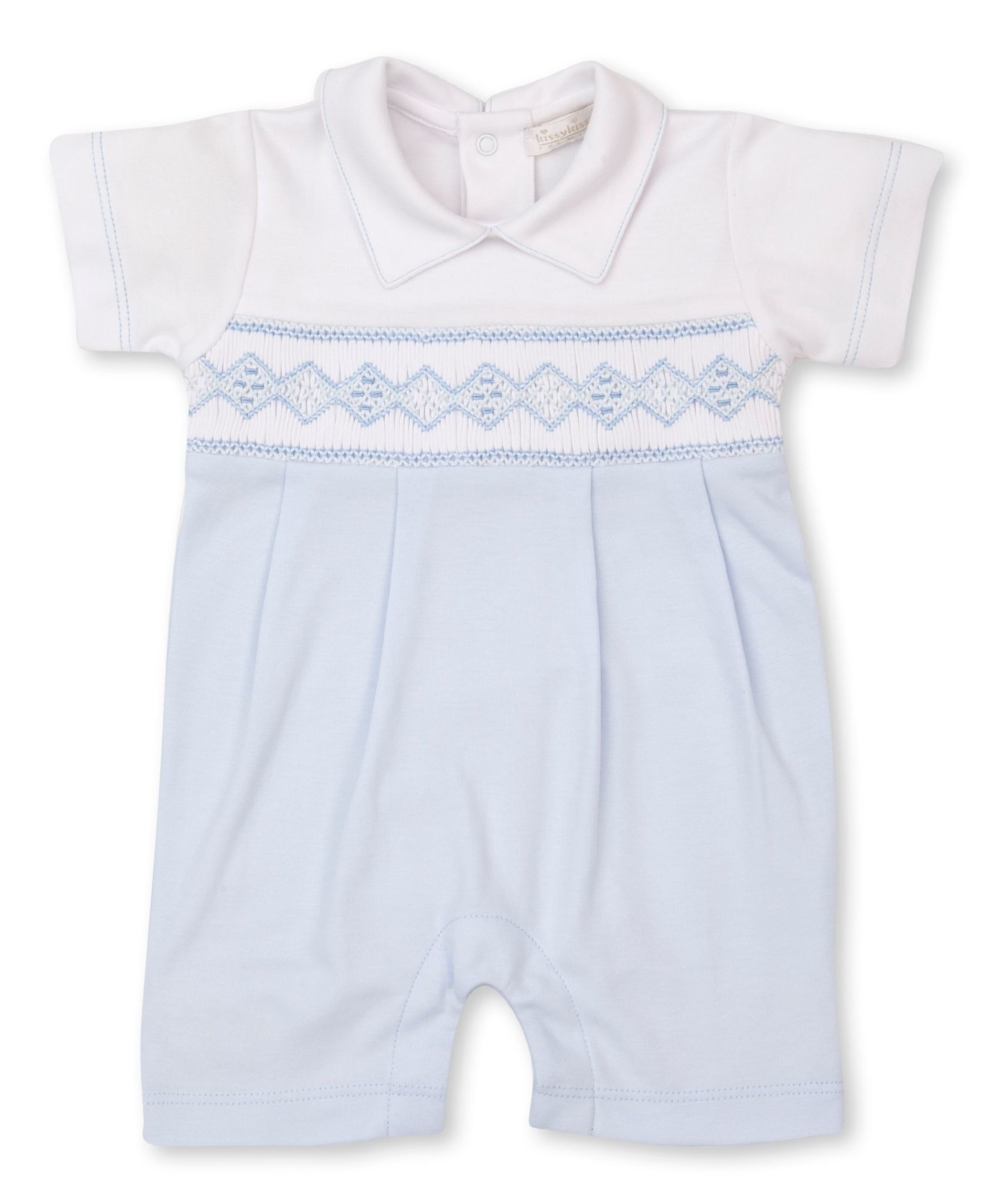 Kissy Kissy Hand Smocked Playsuit
