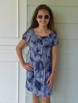 Area Code 407 Makayla Elastic Waist Dress