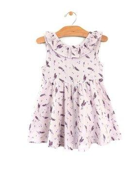 City Mouse Muslin Flutter Back Dress