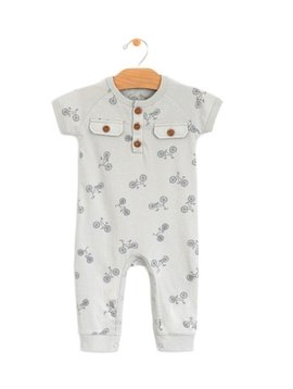 City Mouse Jersey Romper