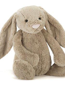 """Jellycat Bashful Beige Bunny 26"""""""