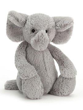 "Jellycat Bashful Grey Elephant Small 7"""