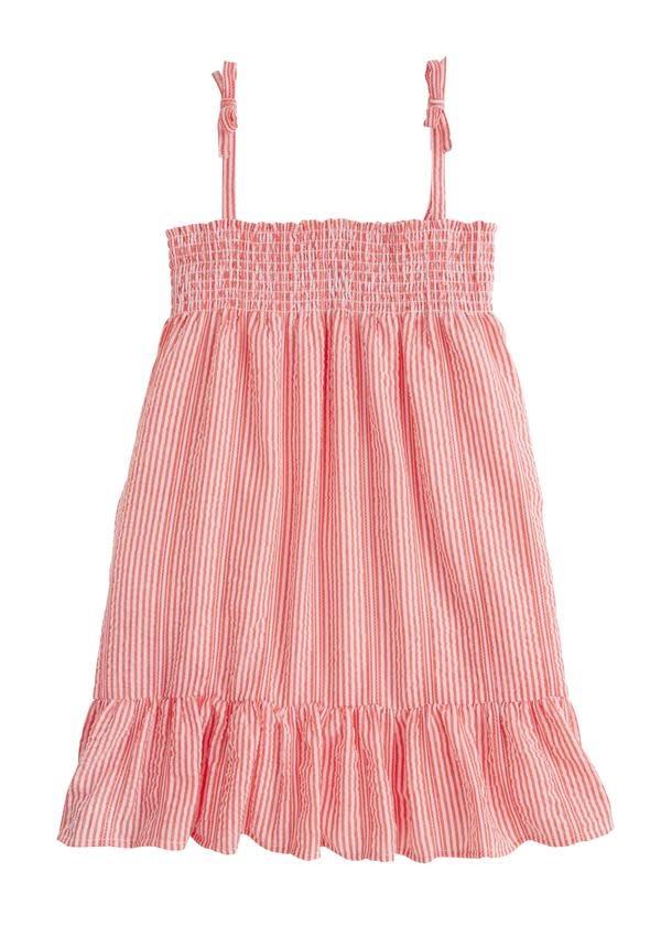 Bisby Red Seersucker Lucy Dress