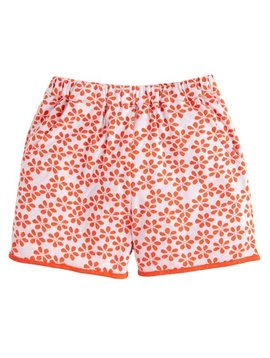 Bisby Orange Floral Shorts