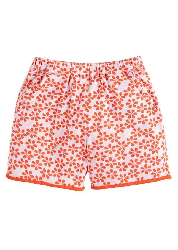 Bisby Orange Floral Shorts
