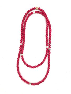 Anchor Beads Little Indian Long Wrap Necklace