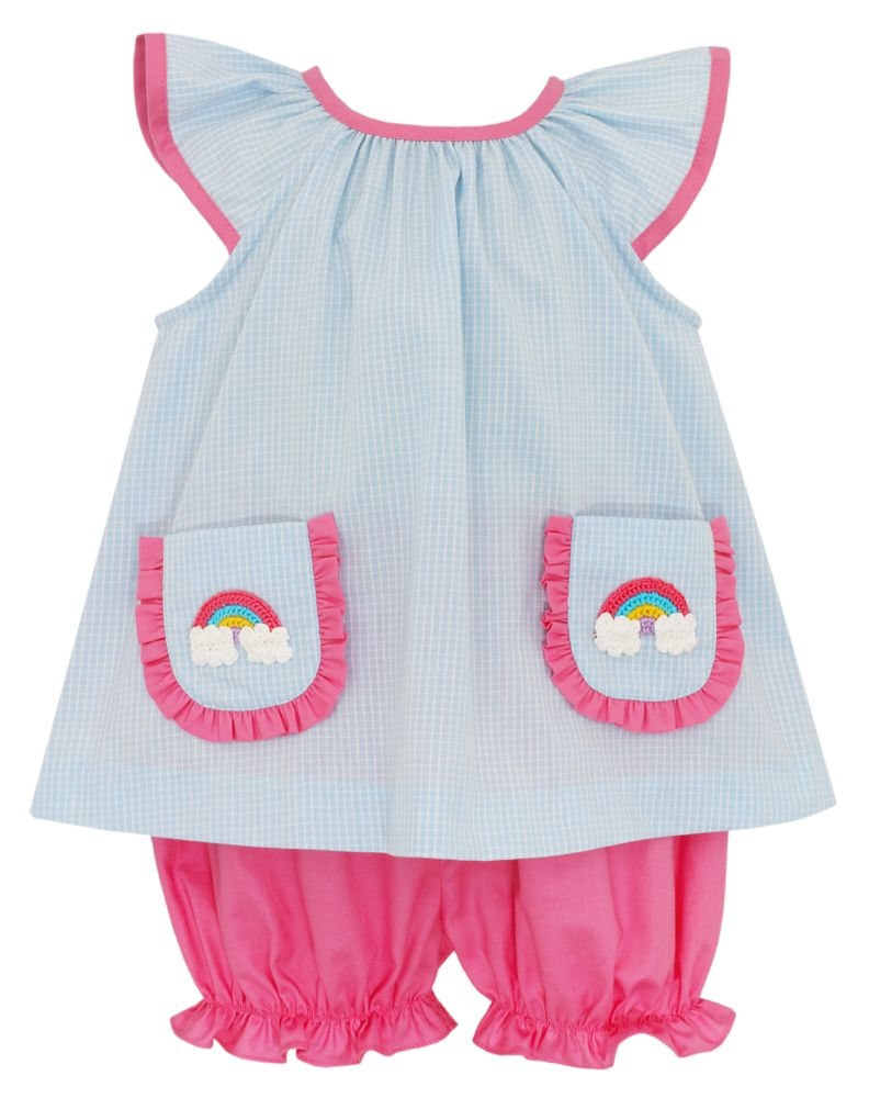 Claire & Charlie Rainbow Pocket Bloomer Set