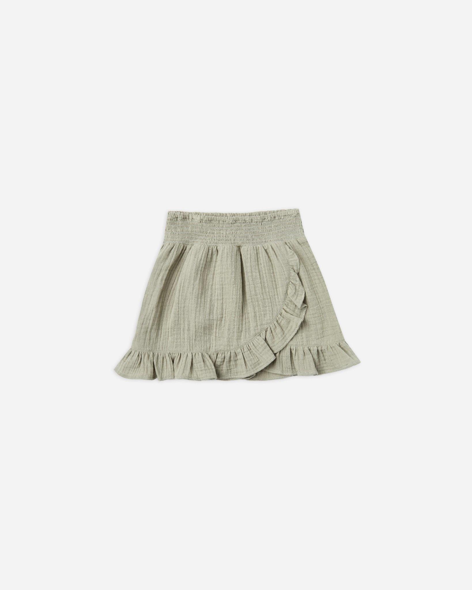 Rylee & Cru Wrap Ruffle Skirt