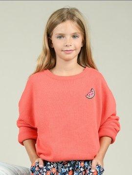 Mini Molly Watermelon Summer Sweater
