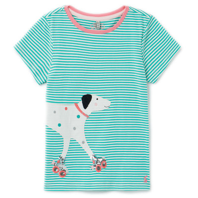 Joules Green Dog Astra Top