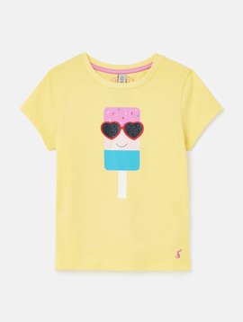 Joules Yellow Lolly Pixie Top