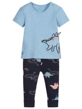 Joules Dino Applique Set