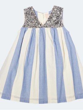 Pink Chicken Courtney Riviera Stripe Dress