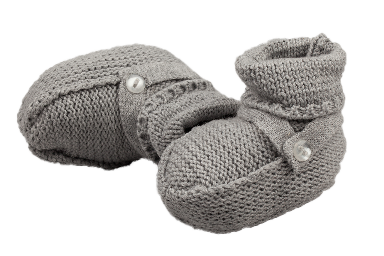 Feltman Brothers Boy Knit Booties