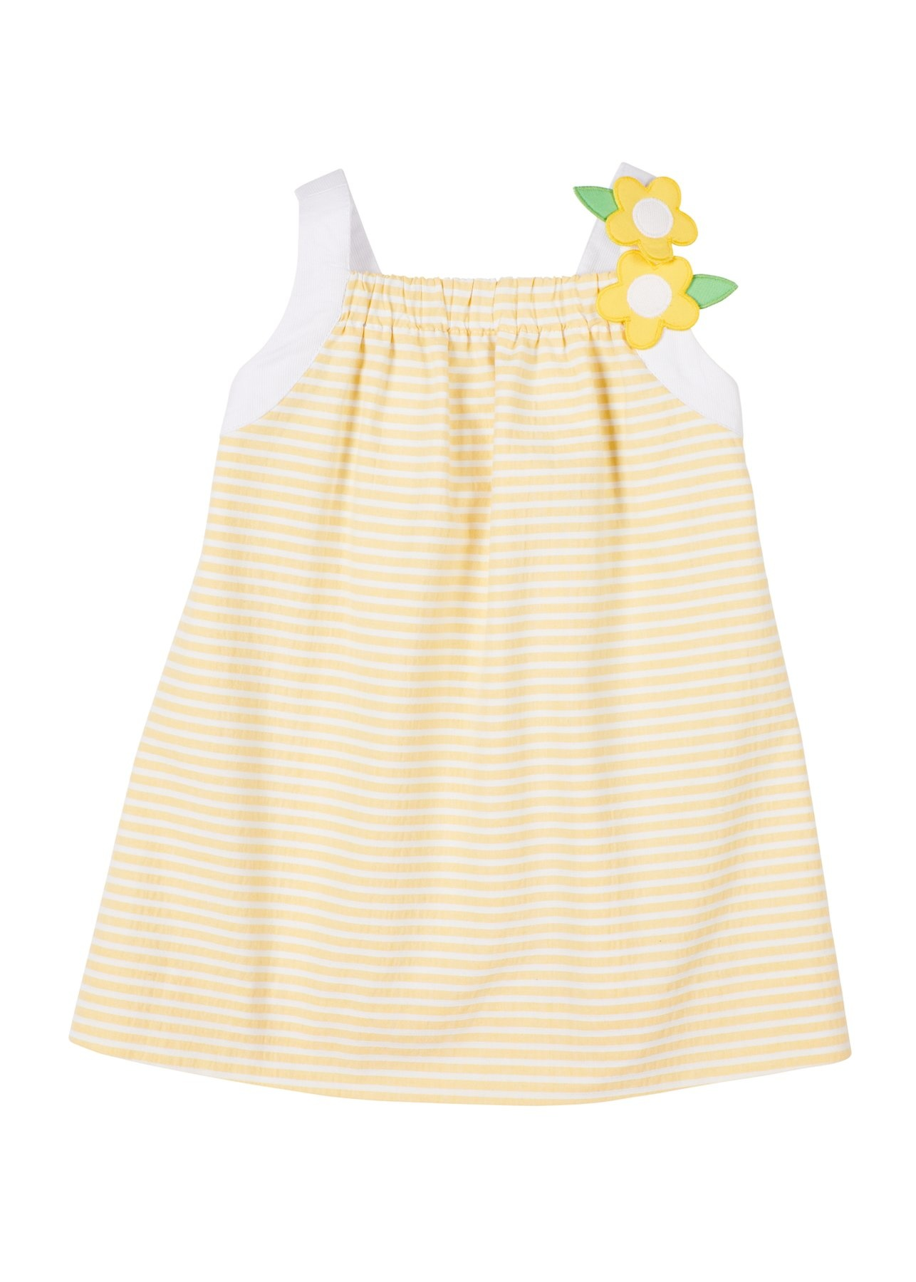 Florence Eiseman Yellow Stripe Sundress