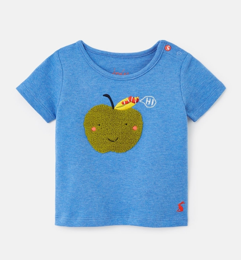 Joules Archie Blue Apple Tee