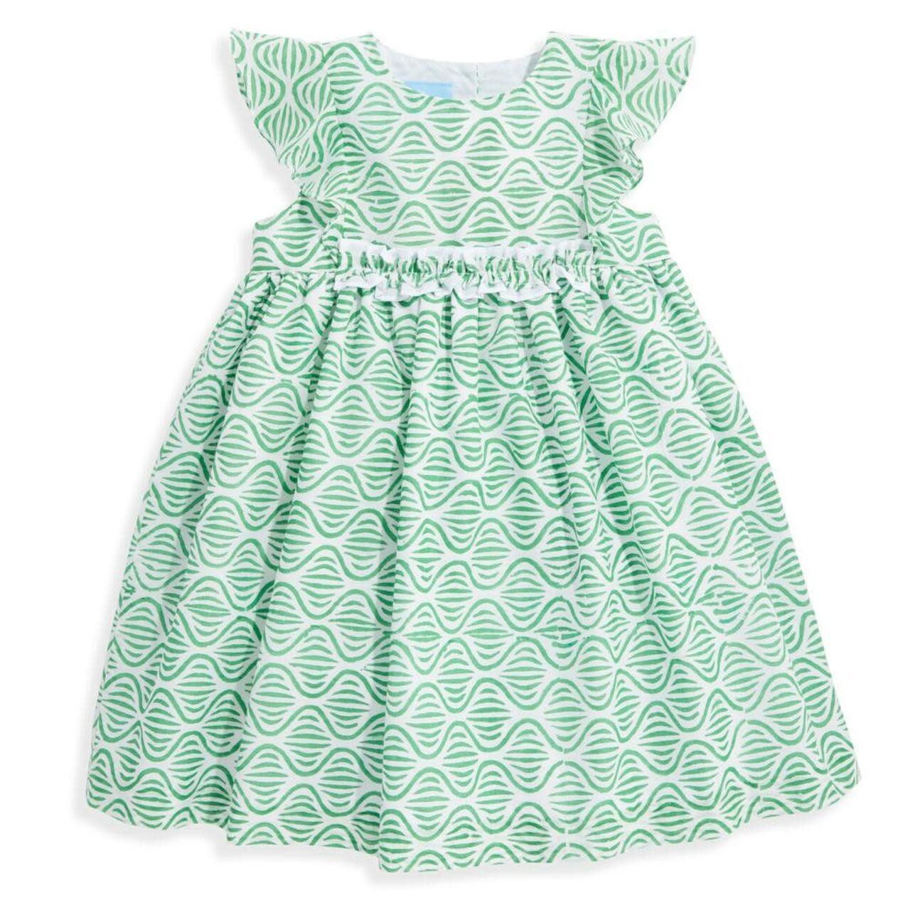bella bliss Green Trellis Gabby Dress