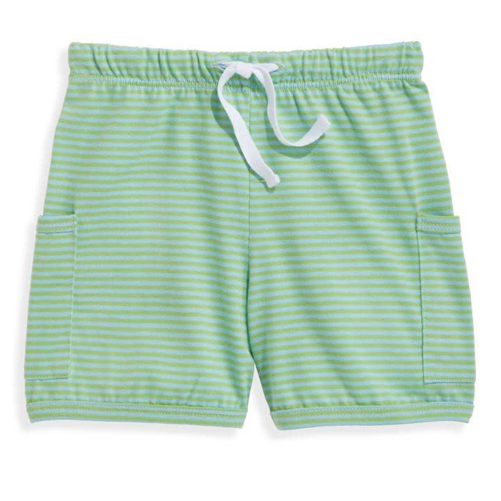 bella bliss Blue/Green Stripe Short