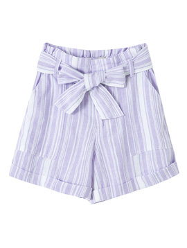 Habitual Lilac Paper Bag Short
