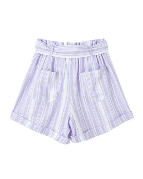 Habitual Lilac Paper Bag Short