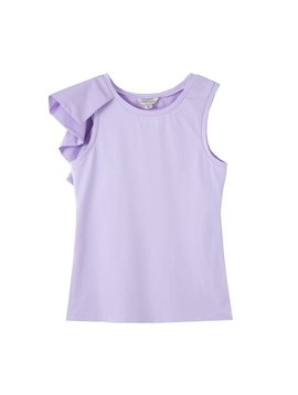 Habitual Lilac Asymmetrical Top