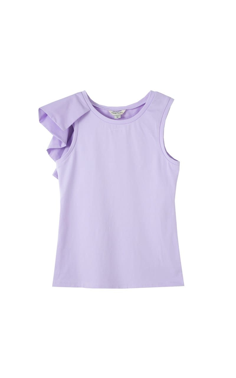 Habitual Lilac Asymmetrical Top