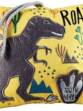 Floss & Rock Dinosaur Tooth Fairy Pillow