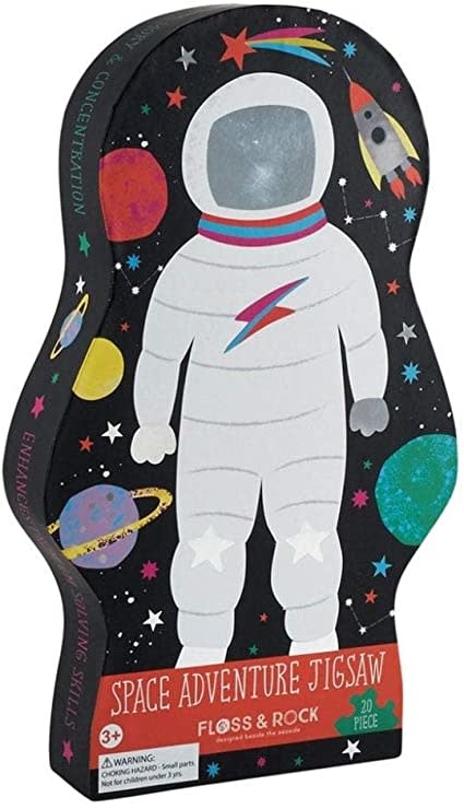 Floss & Rock 20 pc Space Jigsaw Puzzle