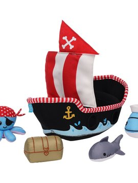 Manhattan Toy Co Pirate Ship Fill & Spill