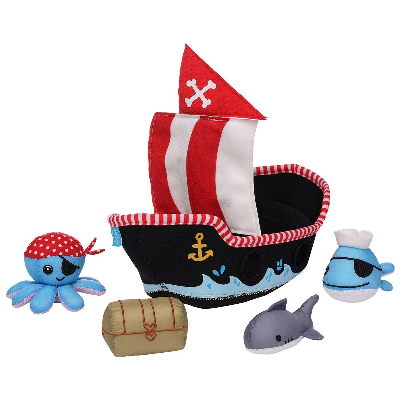 Manhattan Toy Co Pirate Ship Fill & Spill