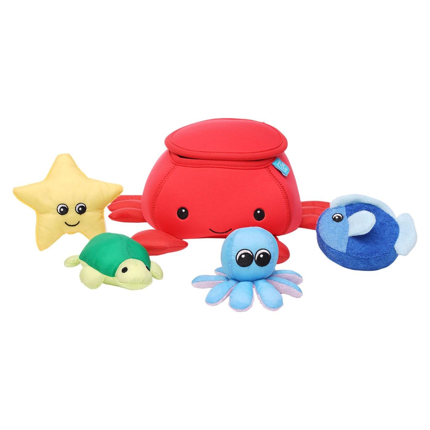 Manhattan Toy Co Crab Fill & Spill