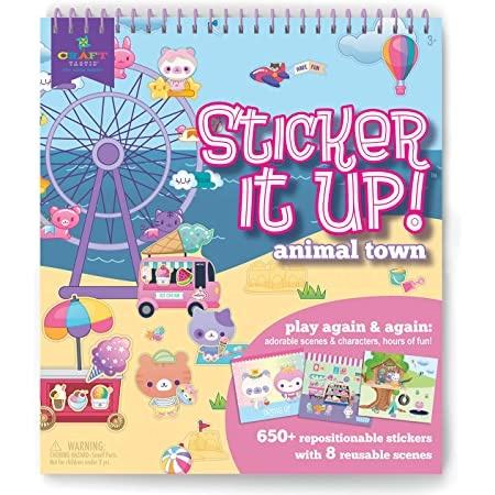 Ann Williams Sticker it Up Animal Fun