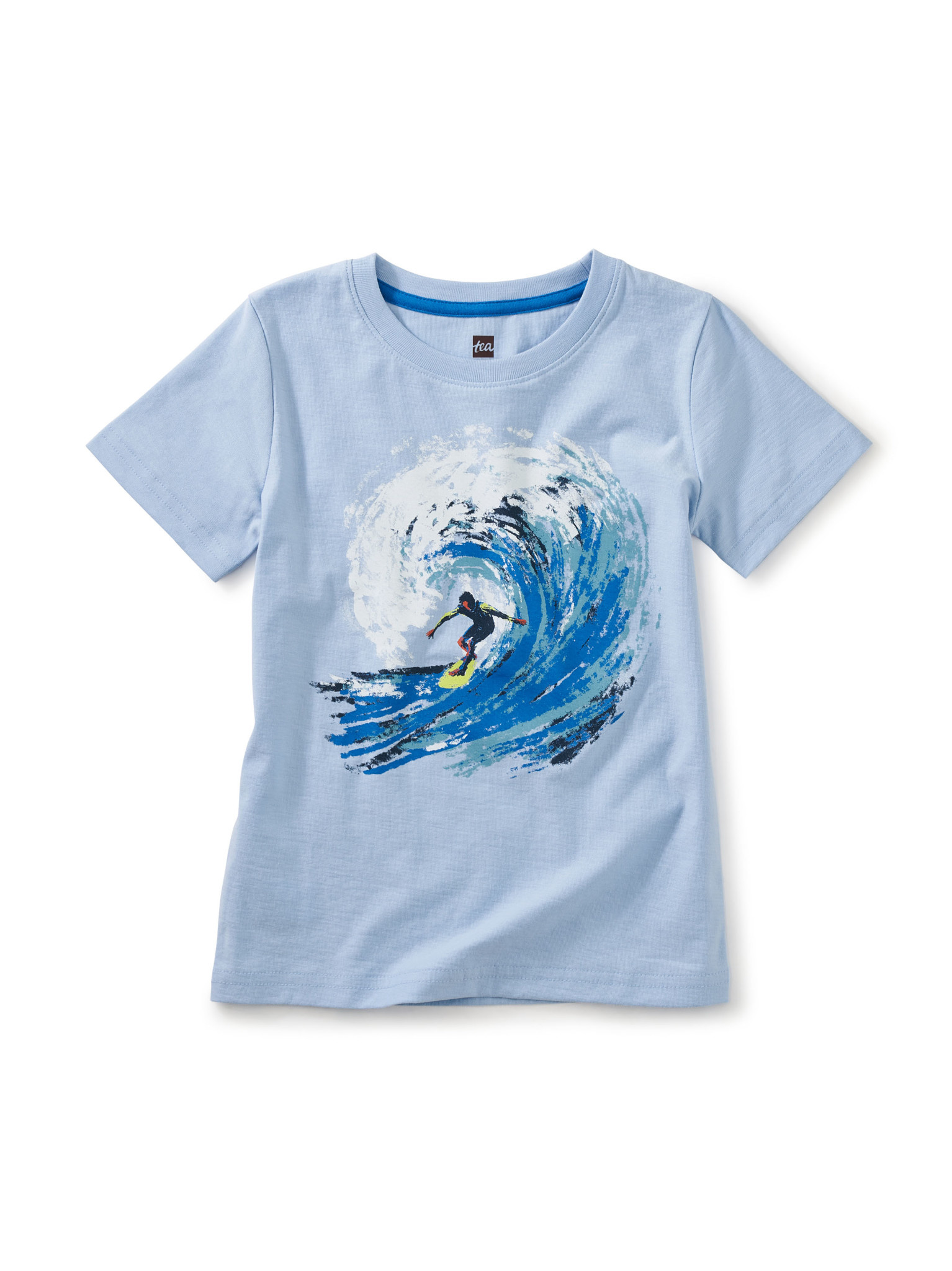 Tea Collection Barrel Wave Graphic Tee