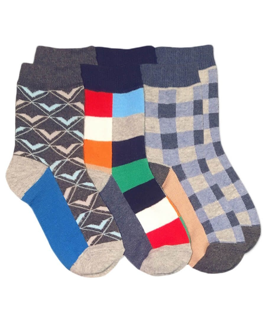 Jefferies Socks 6pk Fun Dress Socks