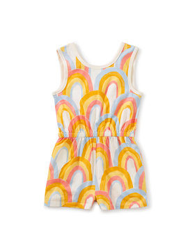 Tea Collection Rainbows Reversible Wrap Romper