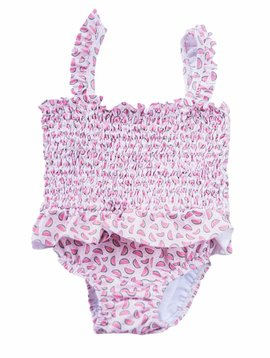James and Lottie Willa Smocked Swimsuit