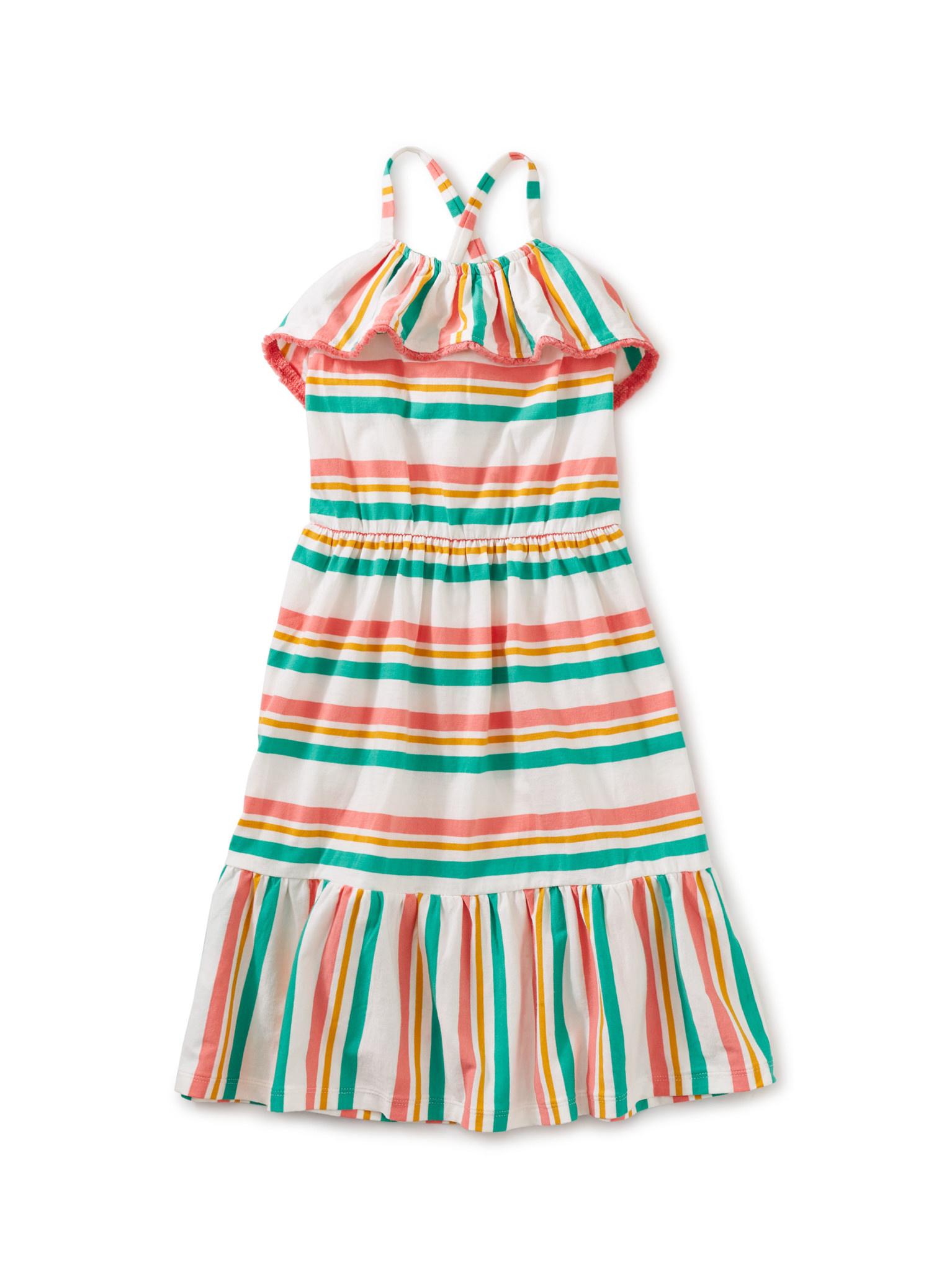 Tea Collection Tassel Trim Midi Dress
