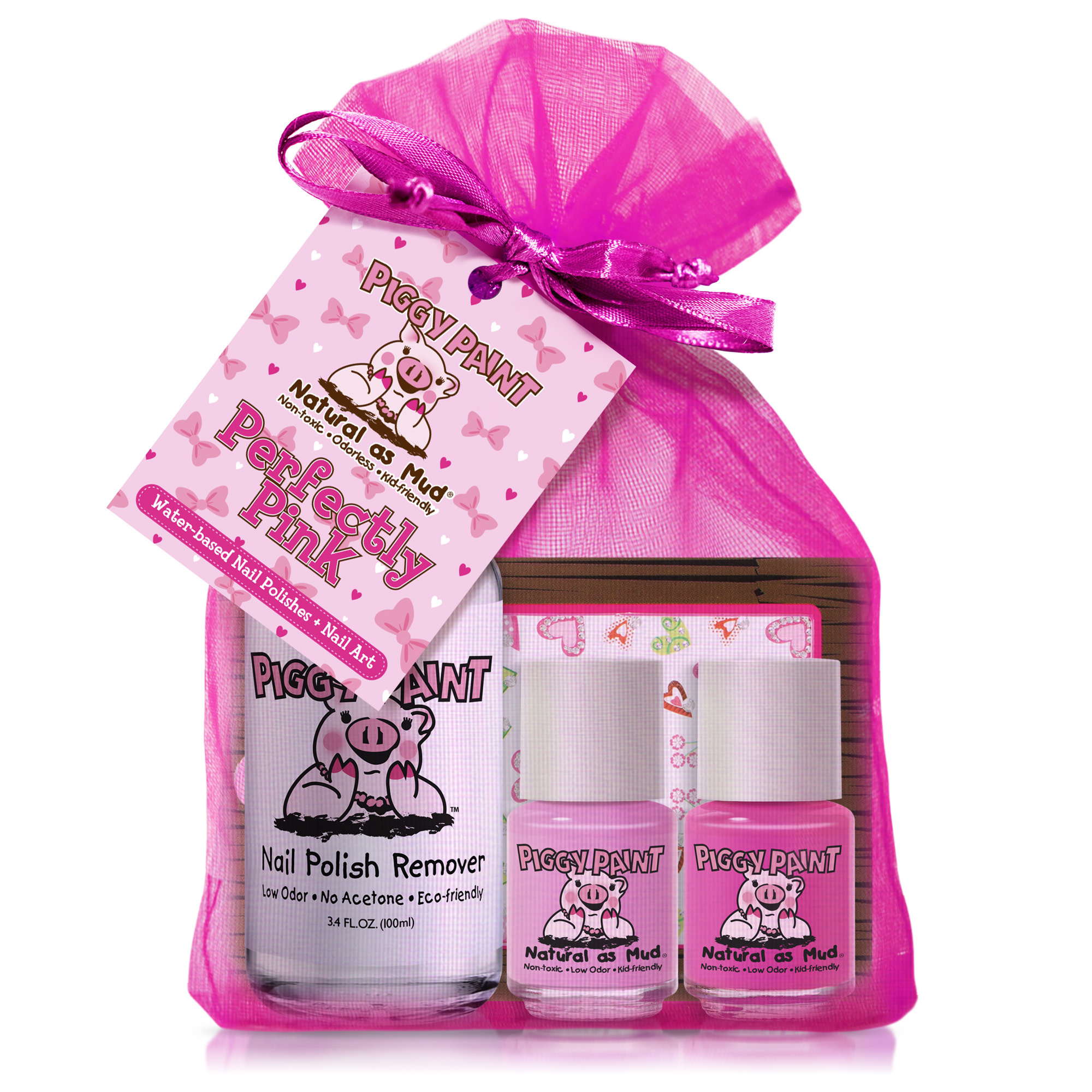 Piggy Paint Perfectly Pink Kit