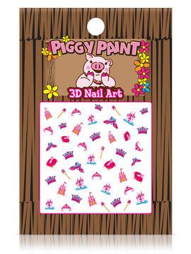 Piggy Paint Princess Nail Art