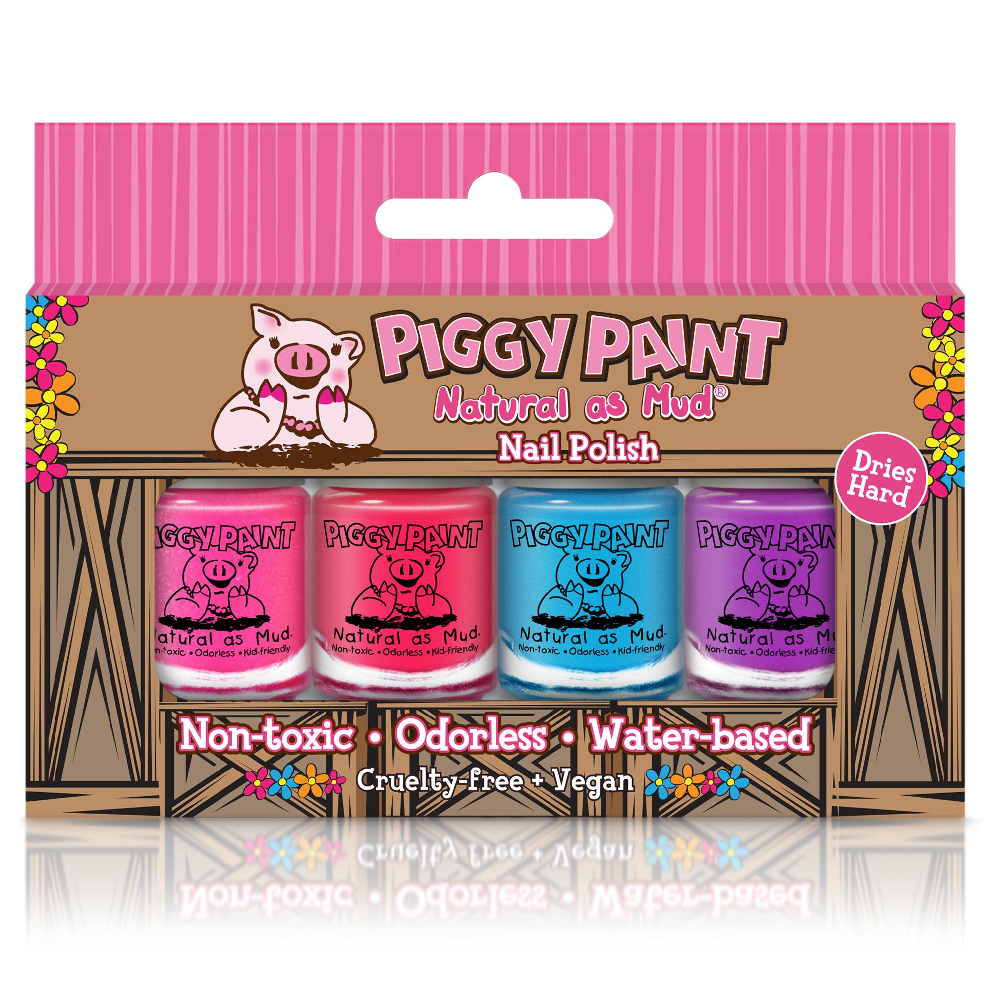 Piggy Paint 4 Polish Box Set
