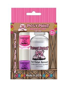 Piggy Paint Remover/Polish Set