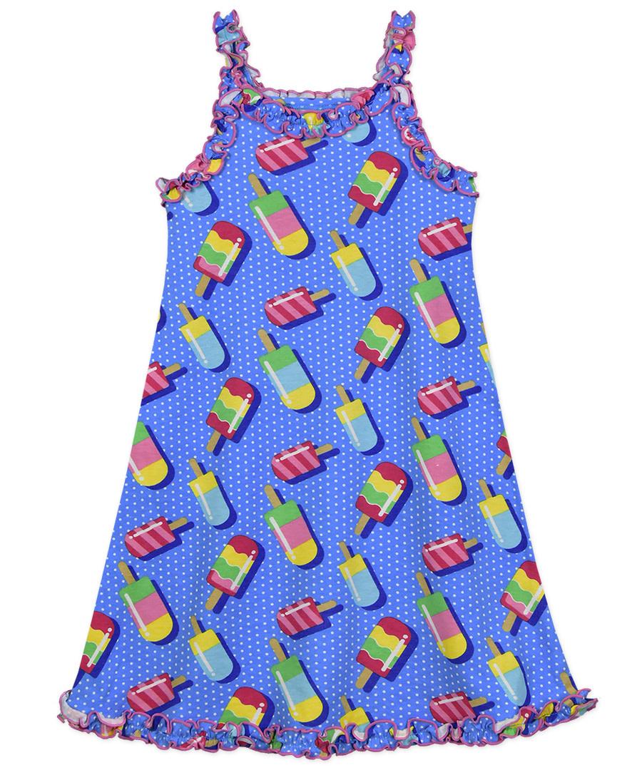 Sara's Prints Ruffle Tank Nightgown