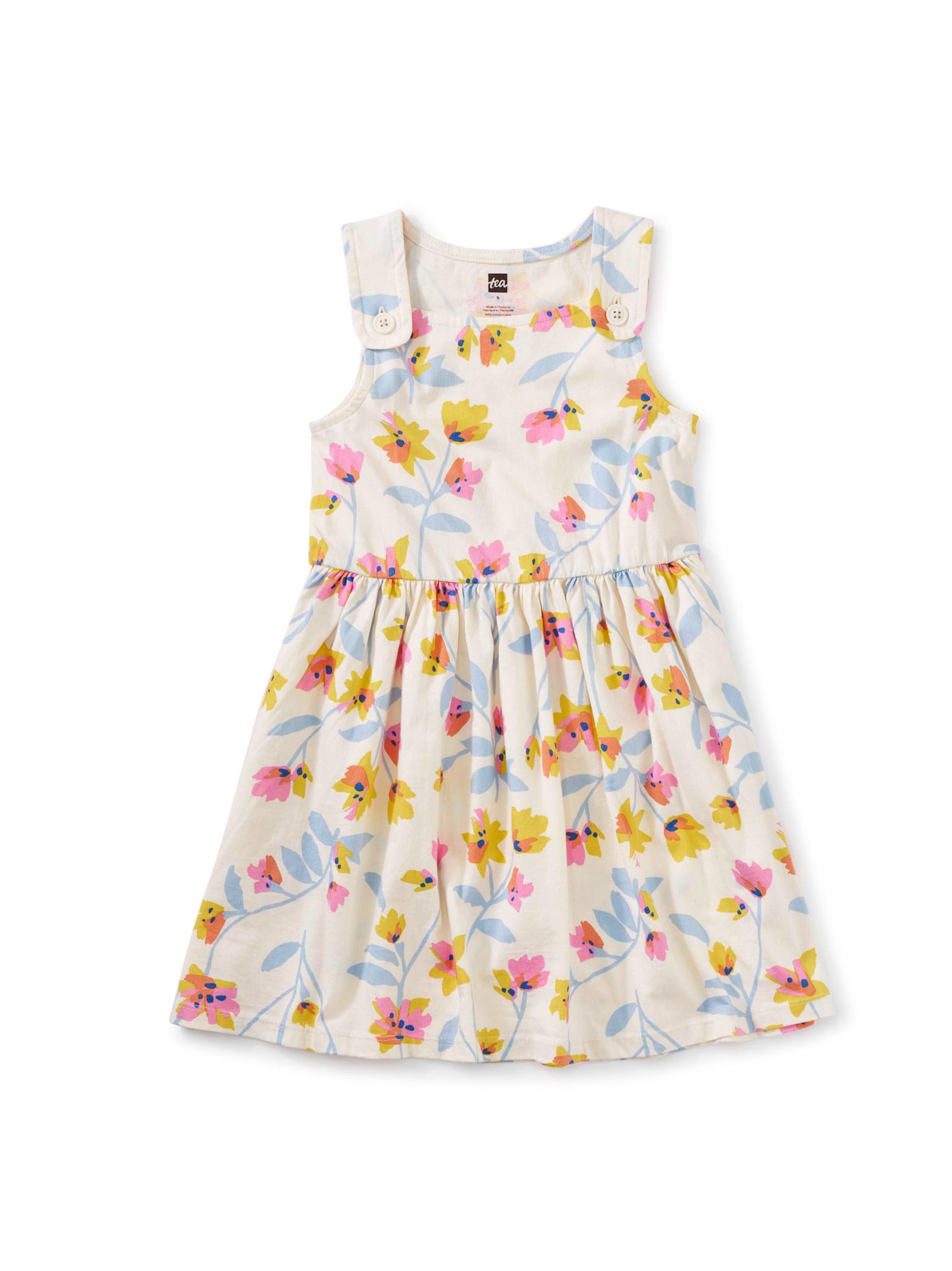Tea Collection Costa Nova Flora Button Shoulder Dress