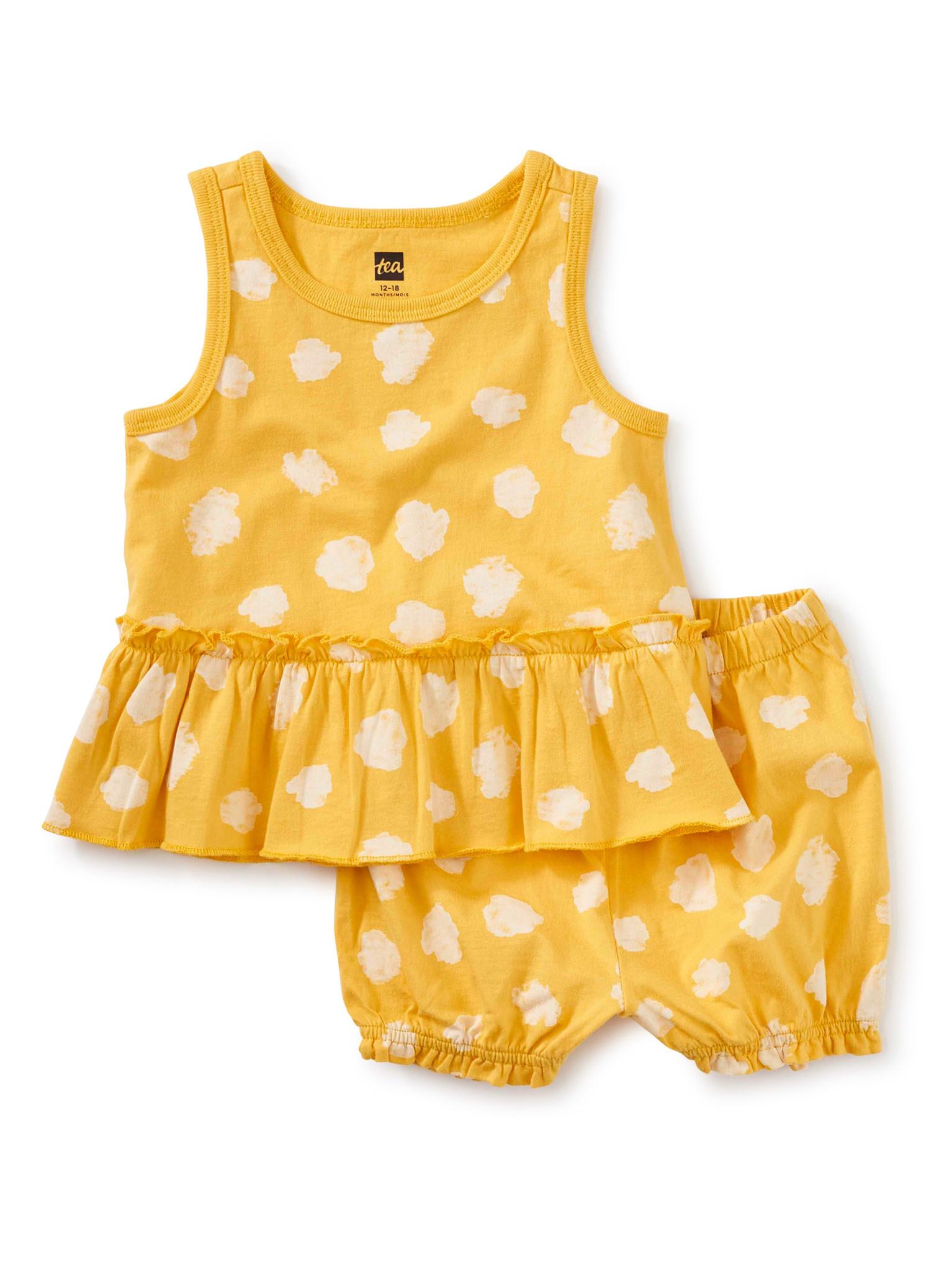 Tea Collection Polka Dots del Sol Baby Set