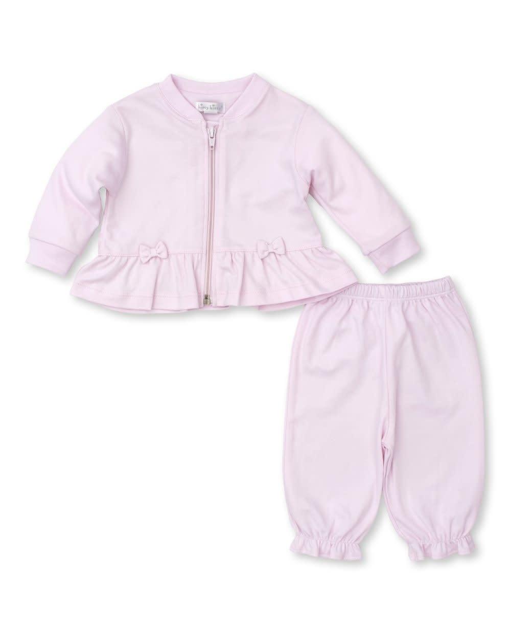 Kissy Kissy Pink Bow Pant Suit