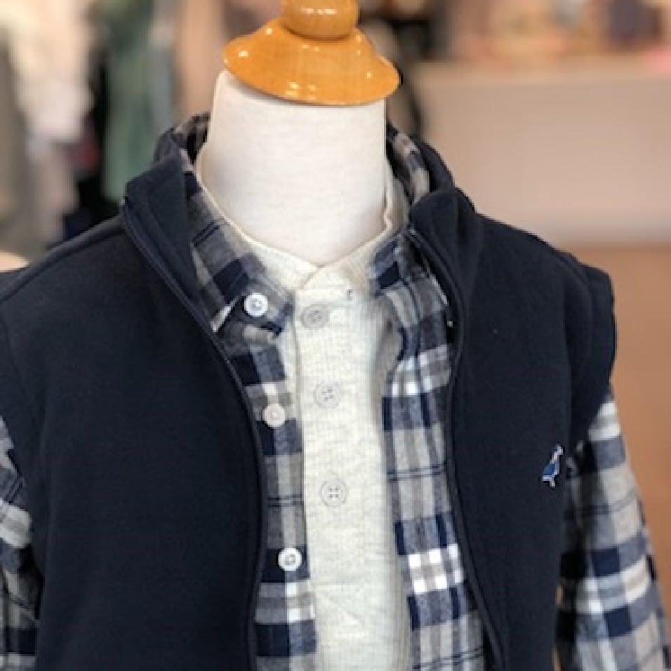 vest on rack