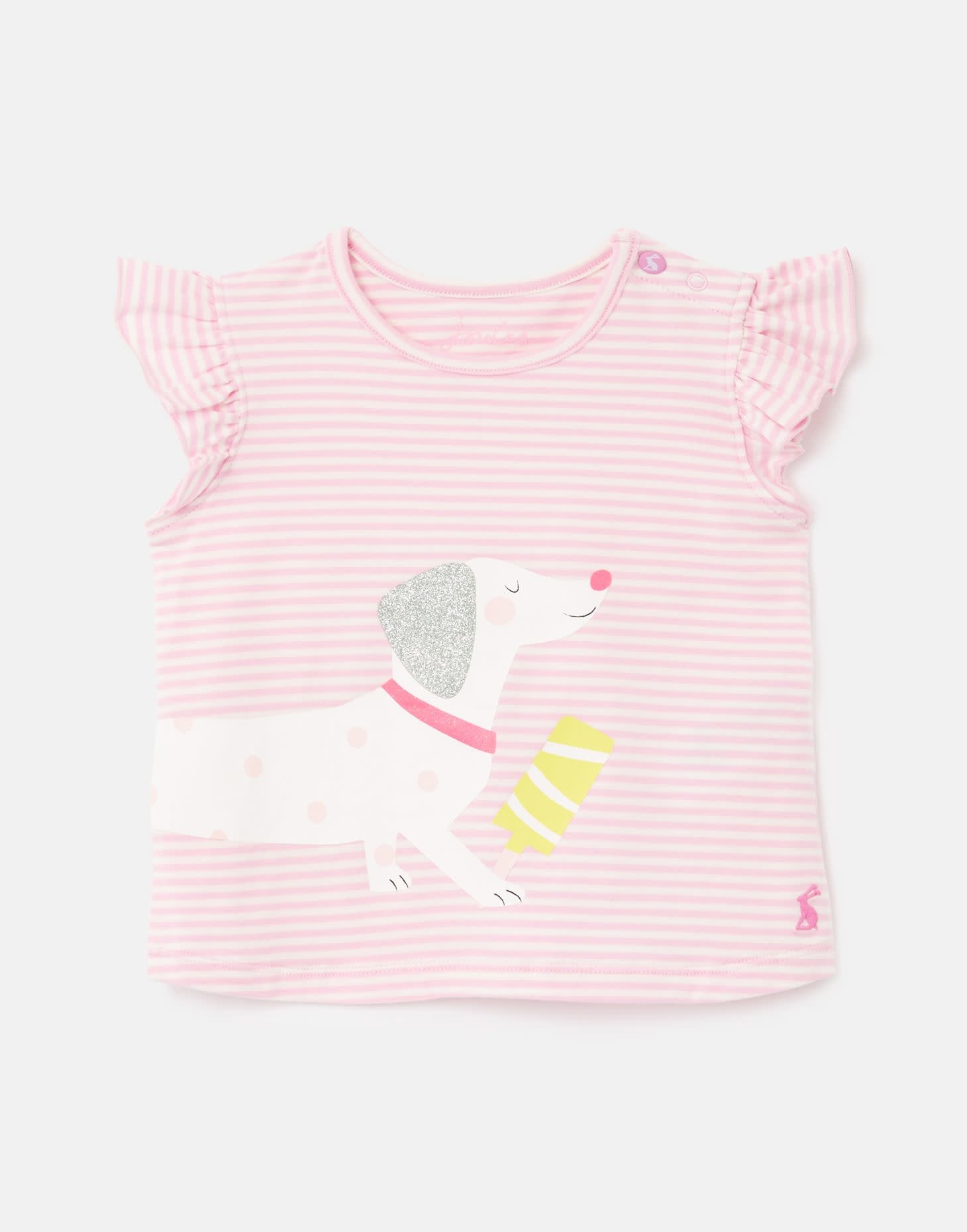 Joules Pixie Pink Dog Top