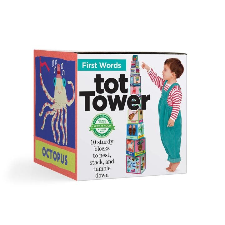eeboo First Words Tot Tower