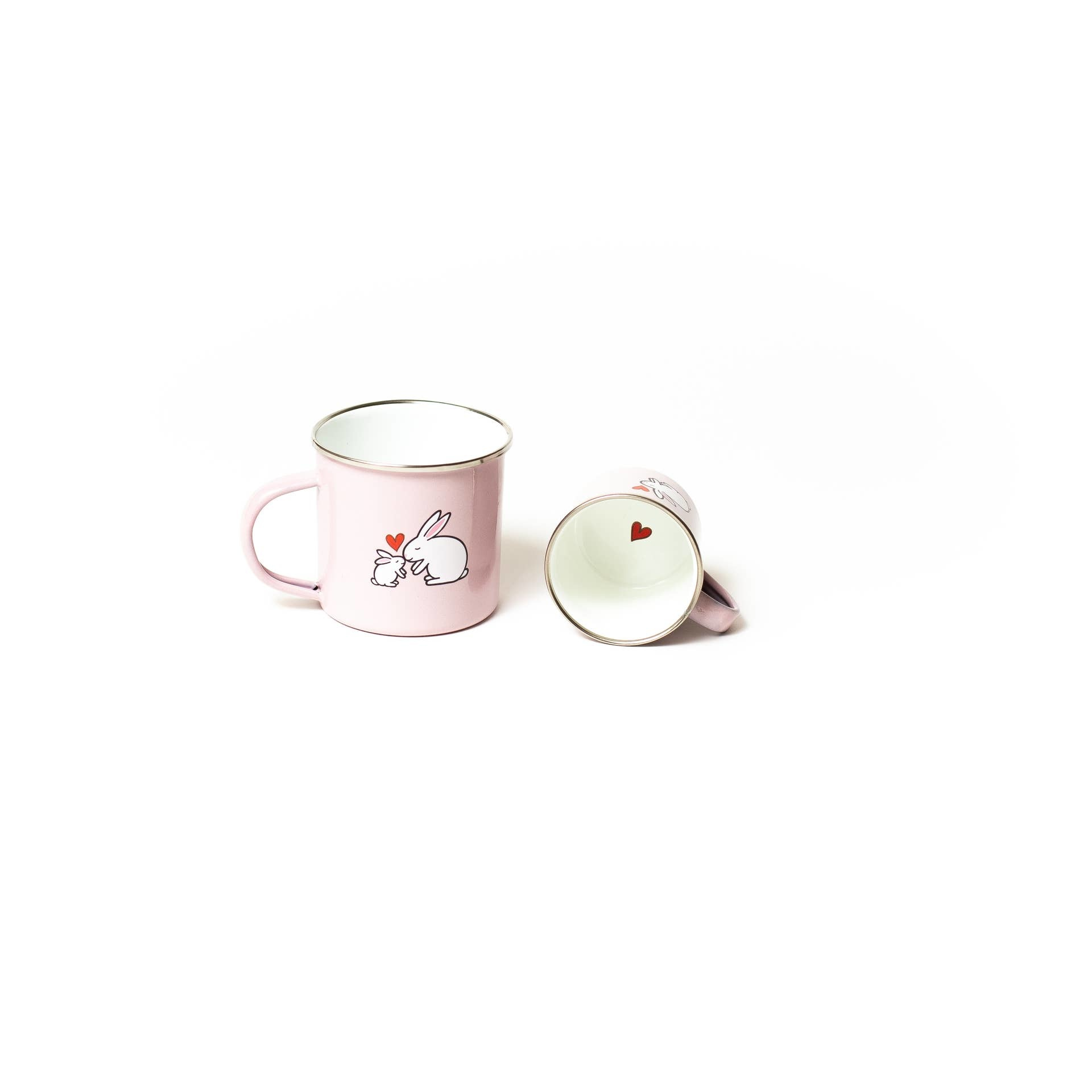 Jack Rabbit Creations Tea for Two Enamelware